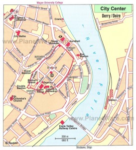 Derry Map