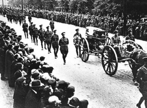 Funeral Percession for Michael Collins