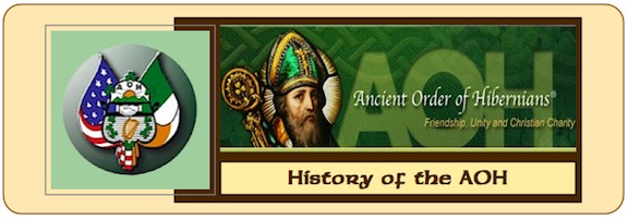 History of AOH Banner