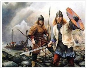 England Being Terrorized by Viking Warriors From 793 to 1066