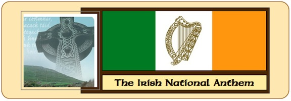 Irish Anthem Banner