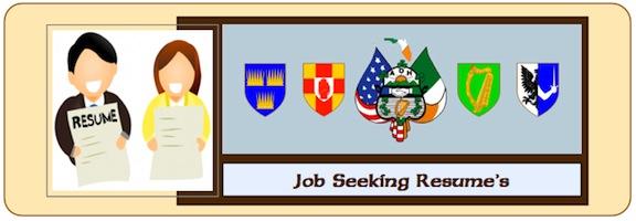 Job Seeking Resume 1