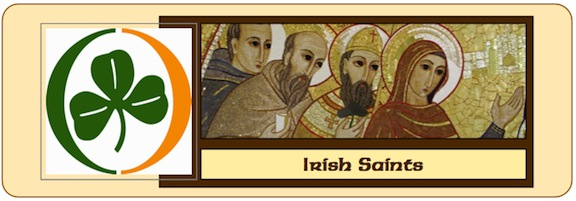 Irish Saints Banner