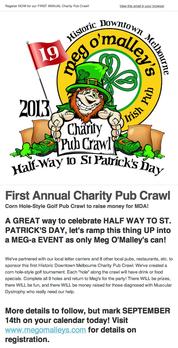 Megs Charity Pub Crawl