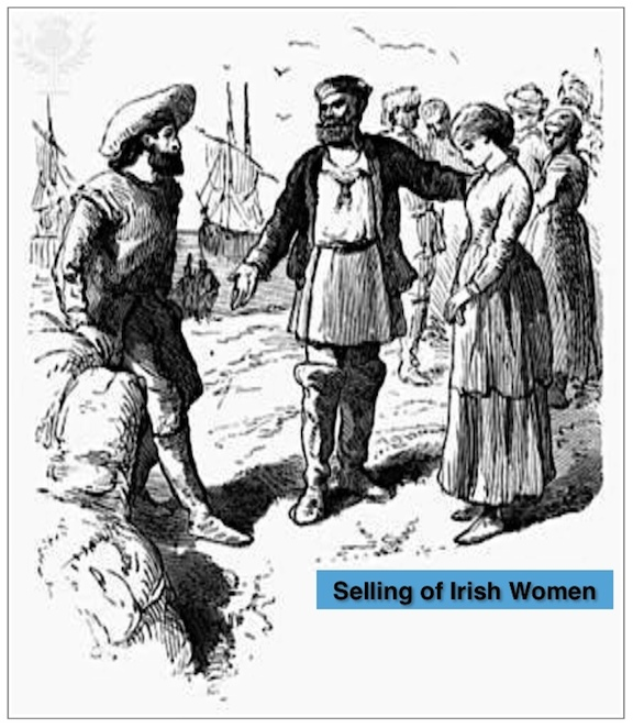 Selling of Irish Women