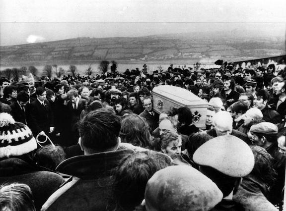 FUNERAL BLOODY SUNDAY VICTIMS