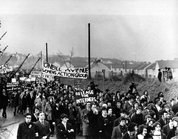 NEWRY CIVIL RIGHTS MARCH