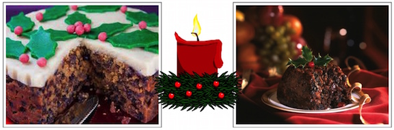 Christmas Cake and Plum Pudding